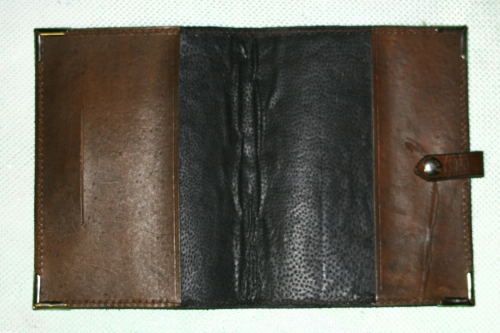 Western Navajo Leather Planner Book Cover 5